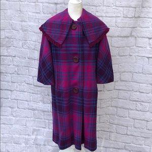 1950s wool pea coat
